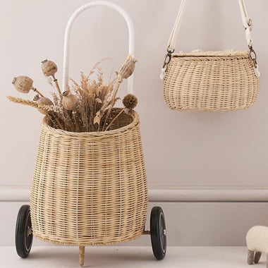 Olli Ella Luggy basket MEDIUM - Natural