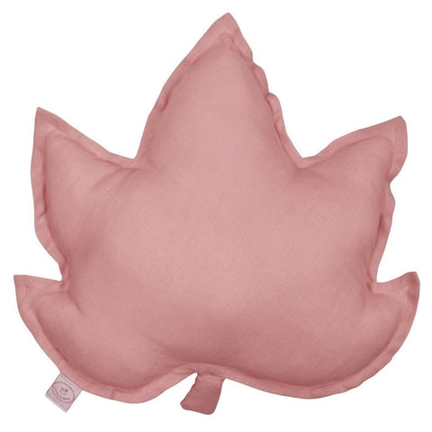 Cotton & Sweets Kussen Maple Leaf - Wit