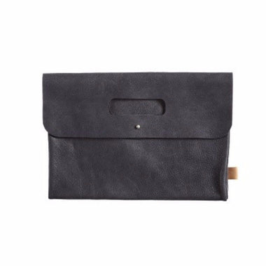 Mies & co diaperclutch leather black