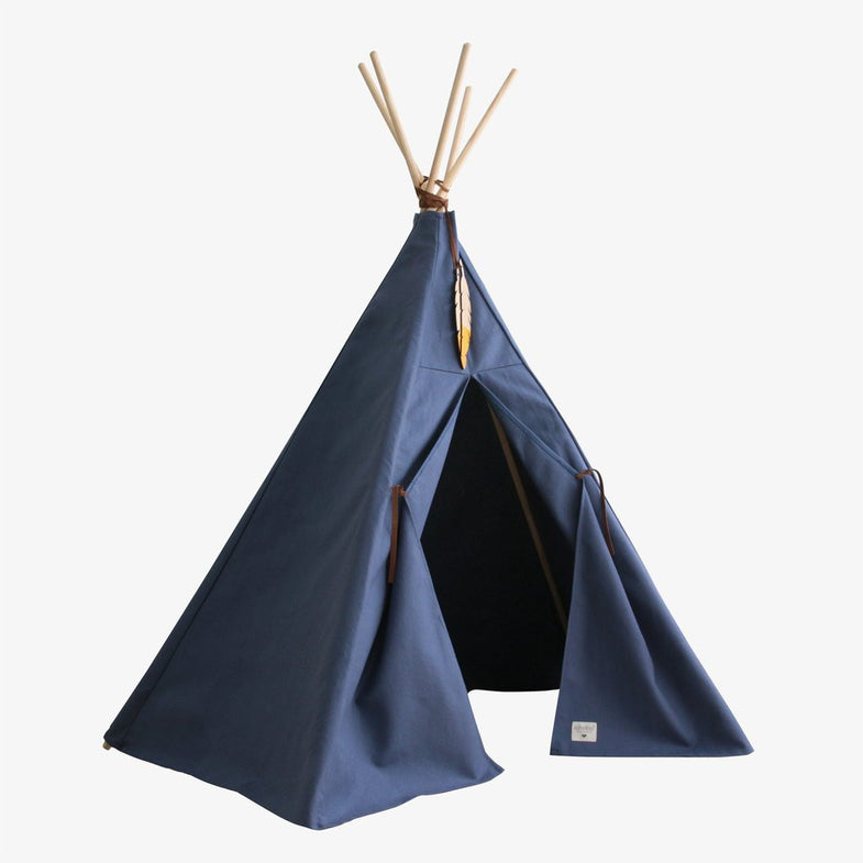 Nobodinoz tipi large Aegan Blue - DE GELE FLAMINGO - 1