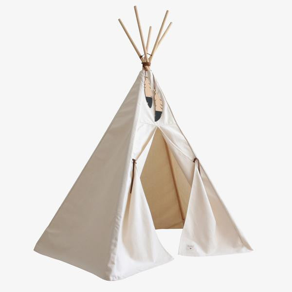 Nobodinoz tipi large Natural - DE GELE FLAMINGO - 1