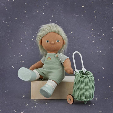 Olli Ella Toy Luggy Voor Poppen | Mint