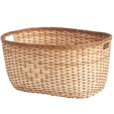 Olli Ella Rattan Tuscan Laundry Basket Medium