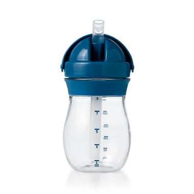 Oxo Tot Drinkbeker 250ml met rietje Navy