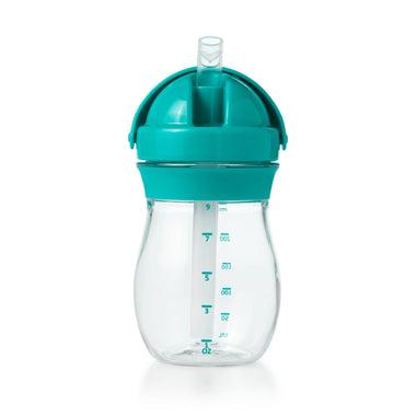 Oxo Tot Drinkbeker 250ml met rietje Teal