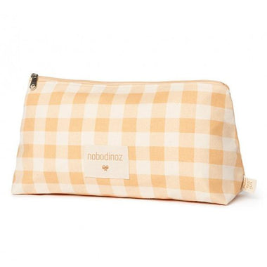 Nobodinoz Pencil Case Large | Melon Vichy