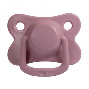 Filibabba Set 2 Ronde Silicone Fopspenen In Doosje 6-18 maanden | Dusty Rose