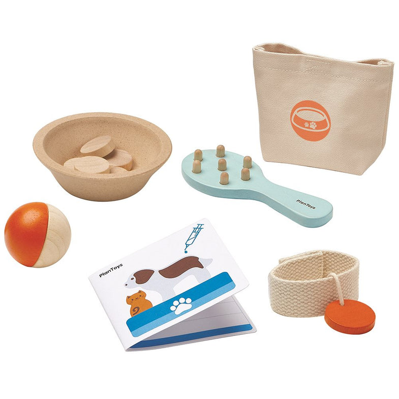 Plantoys Houten pet care - Dierenzorg