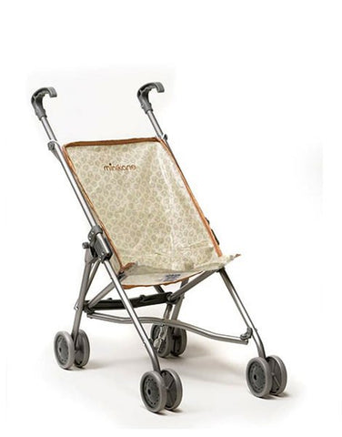 Minikane Plooibuggy Voor Poppen - Grey Apple