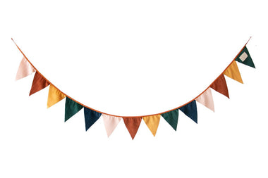 Nobodinoz Savanna Velvet Garland | Sunset