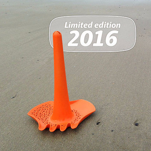 Quut multifunctioneel strandspeelgoed - Triplet Orange - DE GELE FLAMINGO - 1