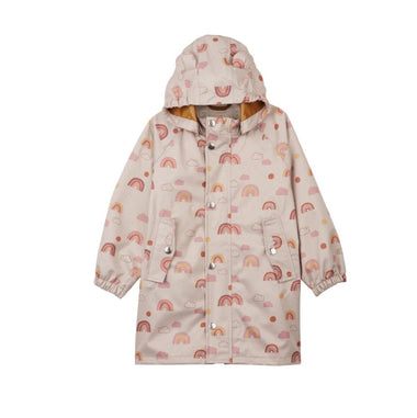 Liewood Blake Long Raincoat | Rainbow Love Sandy