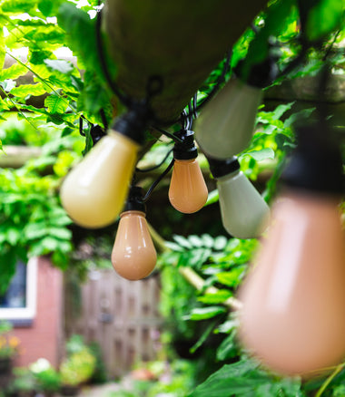 Cotton Ball Lights Lichtslinger PATIO Round Bulbs 10 stuks - Paradise