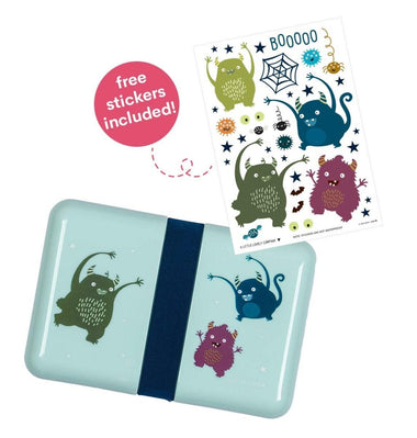 A Little Lovely Company lunch box | Monsters