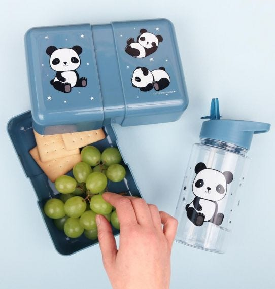 A Little Lovely Company lunch box | Panda
