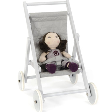 Smallstuff Houten Buggy Grey