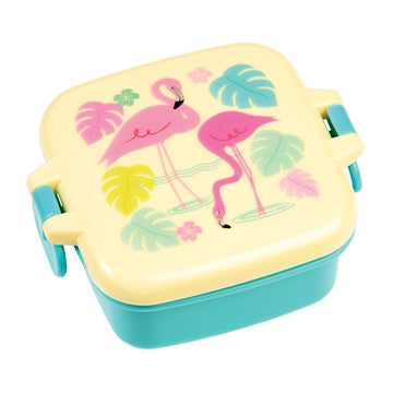 Snack box mini - Flamingo - DE GELE FLAMINGO
