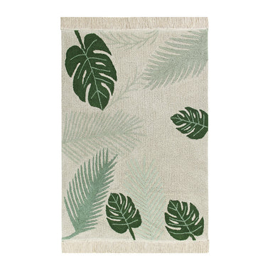 Lorena Canals machinewasbaar tapijt 140x200cm Tropical Green
