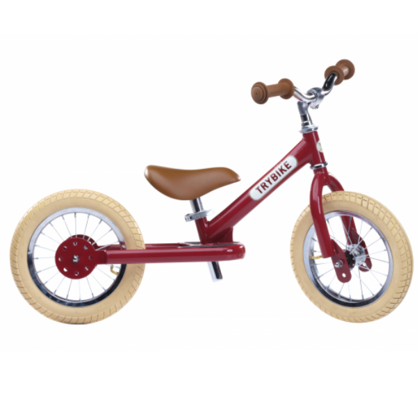 Trybike Steel loopfiets - Vintage Red
