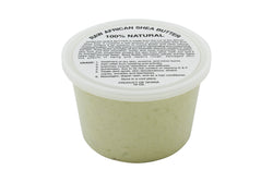 PURE NATURAL WHITE AFRICAN SHEA BUTTER FROM AFRICA: 15oz JAR