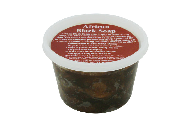 16oz JAR: PURE NATURAL AFRICAN SHEA BUTTER SOAP FROM GHANA