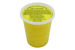 PURE NATURAL YELLOW AFRICAN SHEA BUTTER FROM AFRICA: 28oz JAR