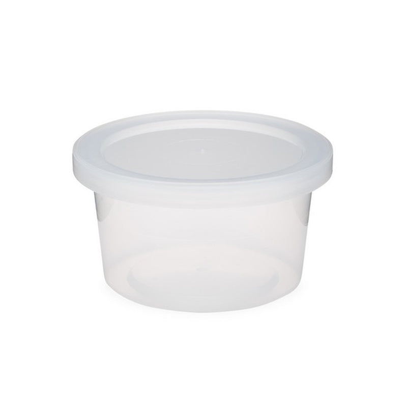 3oz CLEAR CONTAINER WITH TOP WHOLESALE-[RB]QUANTITY=CASE (198 PCS)