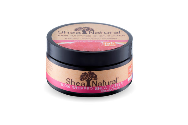 WHIPPED UNREFINED SHEA BUTTER - GRAPEFRUIT POMELO 6.3 OZ