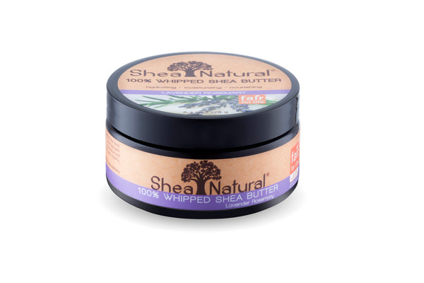 WHIPPED UNREFINED SHEA BUTTER - LAVENDER ROSEMARY 6.3 OZ