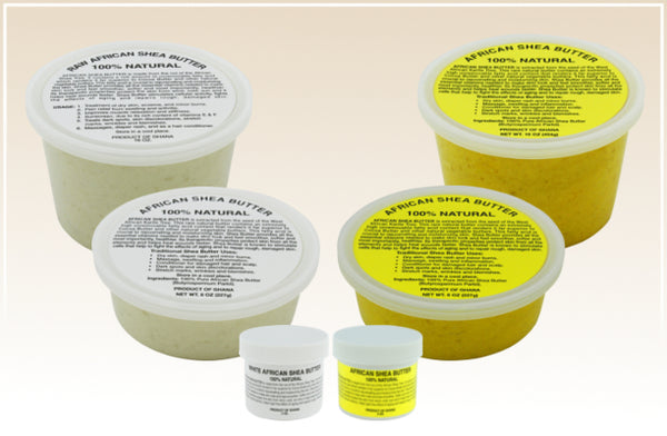 WHOLESALE: CREAMY PURE NATURAL AFRICAN SHEA BUTTER: STARTER KIT