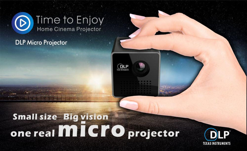 Mini Max™️- Mini Movie Projector