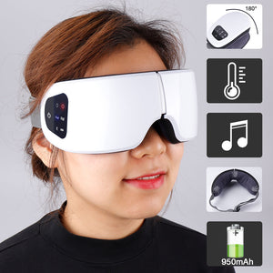 HEATED MASSAGING SLEEP MASK - SOOTHING & EFFECTIVE