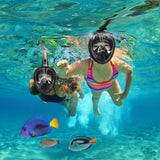 FULL FACE SNORKEL MASK - KEEPS WATER OUT AND AIR IN!
