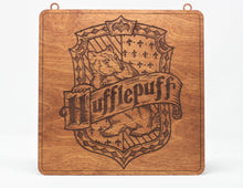 "Load image into Gallery viewer, Harry Potter 1/8"" Hufflepuff Sign"