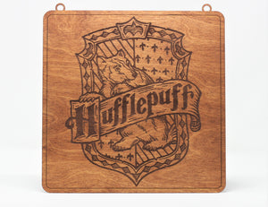 "Harry Potter 1/8"" Hufflepuff Sign"