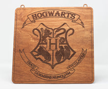 Load image into Gallery viewer, Harry Potter Hogwarts Sign
