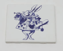 Load image into Gallery viewer, White Porcelain Alice in Wonderland Tiles