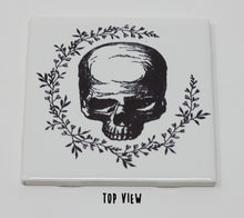 Load image into Gallery viewer, White Porcelain Skull Tiles