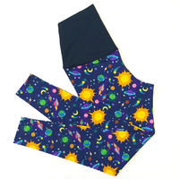 'Space' High Waist Organic Cotton Leggings