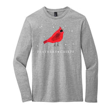 Load image into Gallery viewer, (LIMITED EDITION) Feathers + Chirps Christmas - District Very Important Tee Long Sleeve