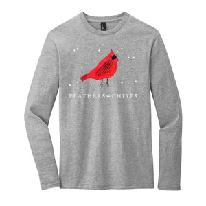 (LIMITED EDITION) Feathers + Chirps Christmas - District Very Important Tee Long Sleeve