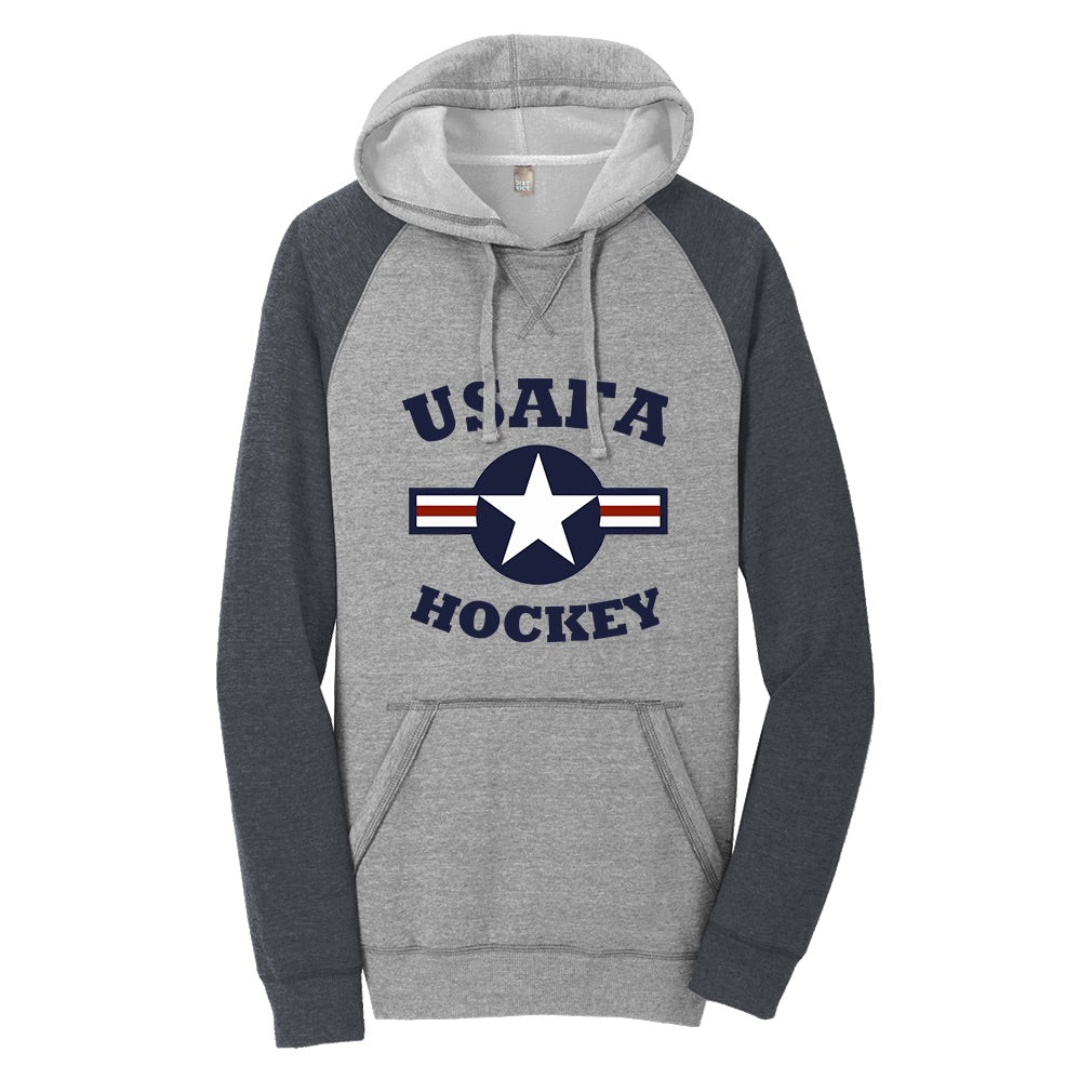 Air Force Club Hockey - District Lightweight Fleece Raglan Hoodie