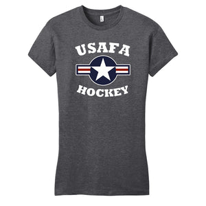 Air Force Club Hockey - District Women's Fitted Very Important Tee