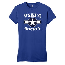Load image into Gallery viewer, Air Force Club Hockey - District Women's Fitted Very Important Tee