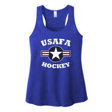 Load image into Gallery viewer, Air Force Club Hockey - District Women's V.I.T. Gathered Back Tank
