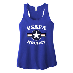 Air Force Club Hockey - District Women's V.I.T. Gathered Back Tank