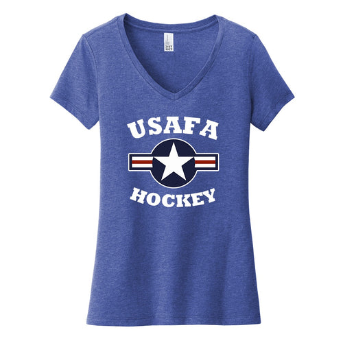Air Force Club Hockey - District Women's Very Important Tee V-Neck