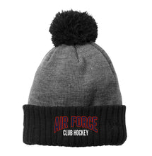 Load image into Gallery viewer, Air Force Club Hockey - New Era Colorblock Cuffed Beanie