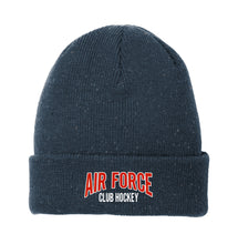 Load image into Gallery viewer, Air Force Club Hockey - New Era Speckled Beanie