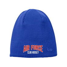 Load image into Gallery viewer, Air Force Club Hockey - New Era Knit Beanie